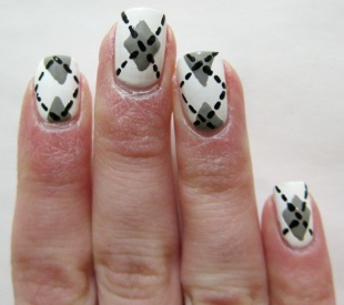Argyle Nail Art Mishpatim