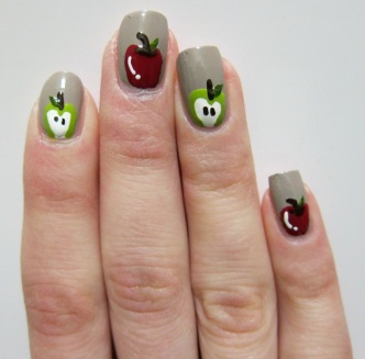 Apples Nail Art Shemita Year